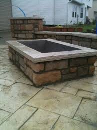 rumblestone fire pit insert square fire pit patio ideas pinterest square fire pit