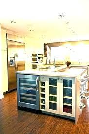 kitchen island with refrigerator impressive kitchen island with wine fridge kitchen island with