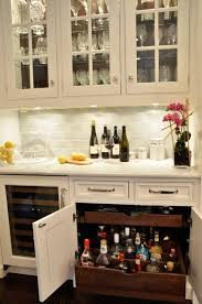 Kitchen Cabinet Roll Out Drawers Deep Pull Out Drawers Transitional Kitchen Dearborn Cabinetry