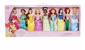 disney princess 9 pc doll set on sale 49 99 reg 100