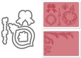 sizzix framelits die set 5pk w textured impressions pinecone