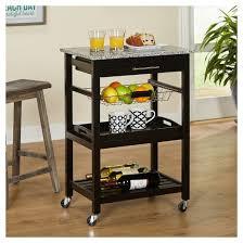 dakota kitchen cart black target marketing systems target