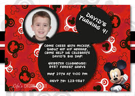 mickey mouse 1st birthday invitations u2013 gangcraft net