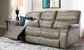 sleek recliner dual power reclining sofa with usb charging the dump america u0027s
