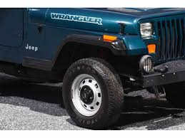 jeep wrangler turquoise for sale 1995 jeep wrangler for sale classiccars com cc 1046179