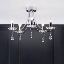 marquis by waterford bandon led 5 light curved bathroom