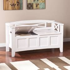 White Wood Storage Bench White Storage Bench For Latest White Wood Storage Bench Furniture