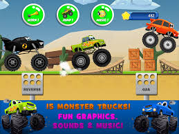 monster truck game videos monster trucks game for kids 2 android apps on google play