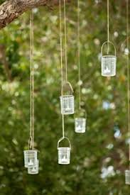 Create A Chandelier How Easy Would It Be To Hang Mason Jars From A Branch And Fill