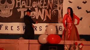 gerua rims rourkela freshers party 2k16 with halloween theme