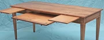 Hardwood Computer Desk Inventia Design 358 Solid Wood Computer Desk