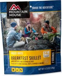 mountain house breakfast skillet 2 servings rei com