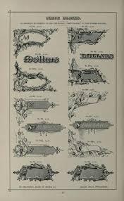 specimens of printing types ornaments border libros