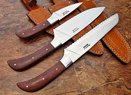 Kitchen Knives Uk Lot Cp 348 Custom Handmade 440c Stainless Steel Chef Knife Set