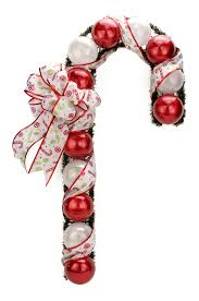 nicole crafts christmas ball candy cane christmas craft moore