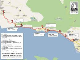 Carpinteria State Beach Campground Map by Annual Aids Bike Ride To Pedal Through Ventura