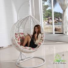 bedroom hanging chair white hanging chair for girl bedroom hanging bedroom chair