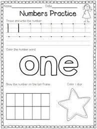 best 25 number worksheets kindergarten ideas on pinterest