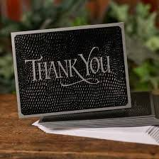 blank thank you cards and envelopes anniversary 25th and