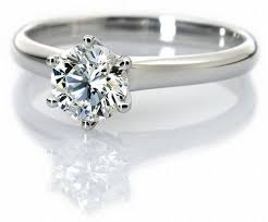 engagement rings india classic 6 prong solitaire ring made in platinum sku 12 jewelove
