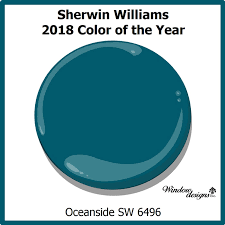 color of year sherwin williams oceanside 2018 color of the year