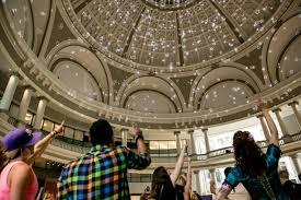 3d light show corazón under the dome 3d light show westfield centre