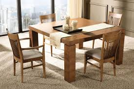 Apartment Size Dining Set by Dining Traditional Apartment Dining Room Square Wood Dining