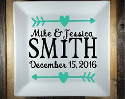 personalized photo plate custom personalized plate personalized wedding plate wedding