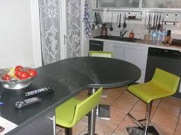 plan de travail arrondi cuisine cuisine avec ilot central arrondi 12 pin plan de travail avec