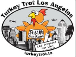 turkey trot los angeles 5k and 10k thanksgiving day race 2015