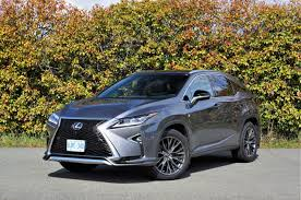 lexus rx 350 atomic silver 2017 lexus rx 350 f sport the car magazine