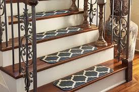Modern Stair Tread Rugs Modern Stair Tread Rugs Inside Navy Blue 0 9 X 2 6 Trellis Rug