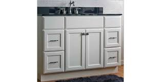 plymouth white recessed panel rta bathroom vanity a fashionable
