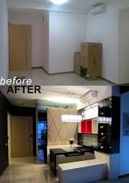4men1lady kitchen before and after small condo condo interior