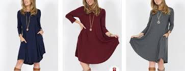 tunic sweater dress with pockets 14 49 today only thrifty nw mom