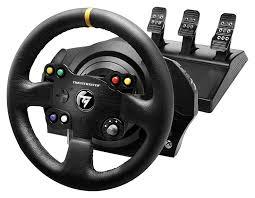 xbox one racing wheel thrustmaster tx racing wheel leather edition xbox one pc dvd