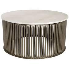 white stone coffee table noi gtab1008asv noir lenox coffee table in white stone in antique