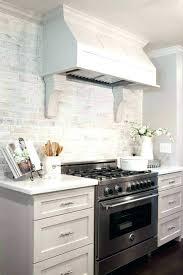 brick tile kitchen backsplash white brick tiles in kitchen ideas brick tile white brick white