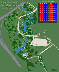 Tamu Parking Map Research Park Disc Golf Course College Station Texas Ratings