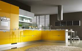 cuisine moderne jaune cuisines ouvertes fonctionnelles et modernes en 17 idées