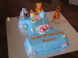 boys cake pooh b u0027day cake u2013 crustncakes online cake delivery