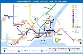 istanbul metro map istanbul metro and tram map maps city