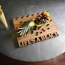 fabulous unique cutting board wooden serving board life is a beach