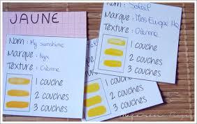 diy nuanciers à vernis comme une boîte à recettes paperblog
