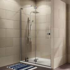 1200mm Shower Door Cooke Lewis Luxuriant Shower Door With Hinged Door W 1400mm