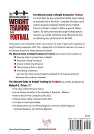 the ultimate guide to weight training for football ultimate guide