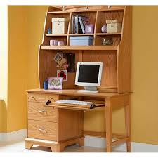 Compact Computer Desk With Hutch Computer Desk Wood Computer Desk To Study