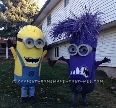 Minion Halloween Costume Ideas 20 Homemade Minion Costumes Ideas Diy Minion