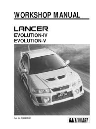 lancer workshop manual ignition system belt mechanical