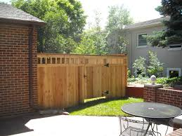 lawn u0026 garden privacy fence styles for backyard wood privacy